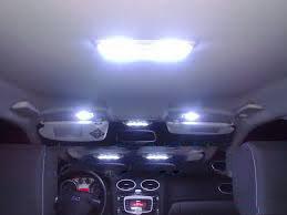 Освещение на автомобиле Ford Focus 2