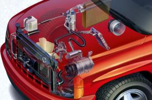 Как работает автомобильный кондиционер?