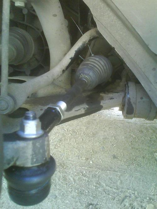 Меняем рулевую тягу на Ford Focus 2 самостоятельно