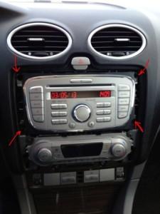 Магнитола Ford Focus 2