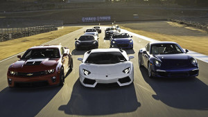 Спортивные машины. Фото и марки