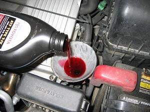 Меняем масло в коробке передач