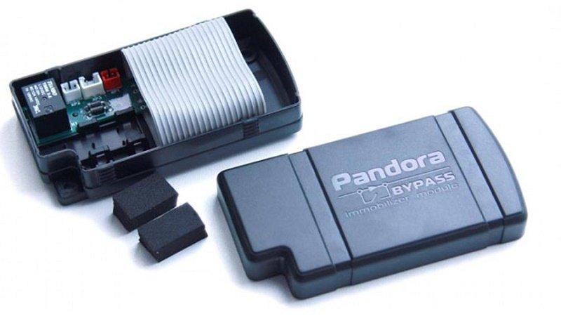 Бесключевой обходчик иммобилайзера Pandora