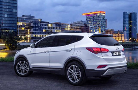 Серьезная заявка, Hyundai Santa Fe 2016