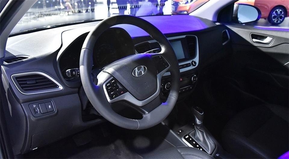 Hyundai Solaris 2017 новый кузов