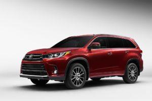 Toyota Highlander 2017 в новом кузове: цены, фото