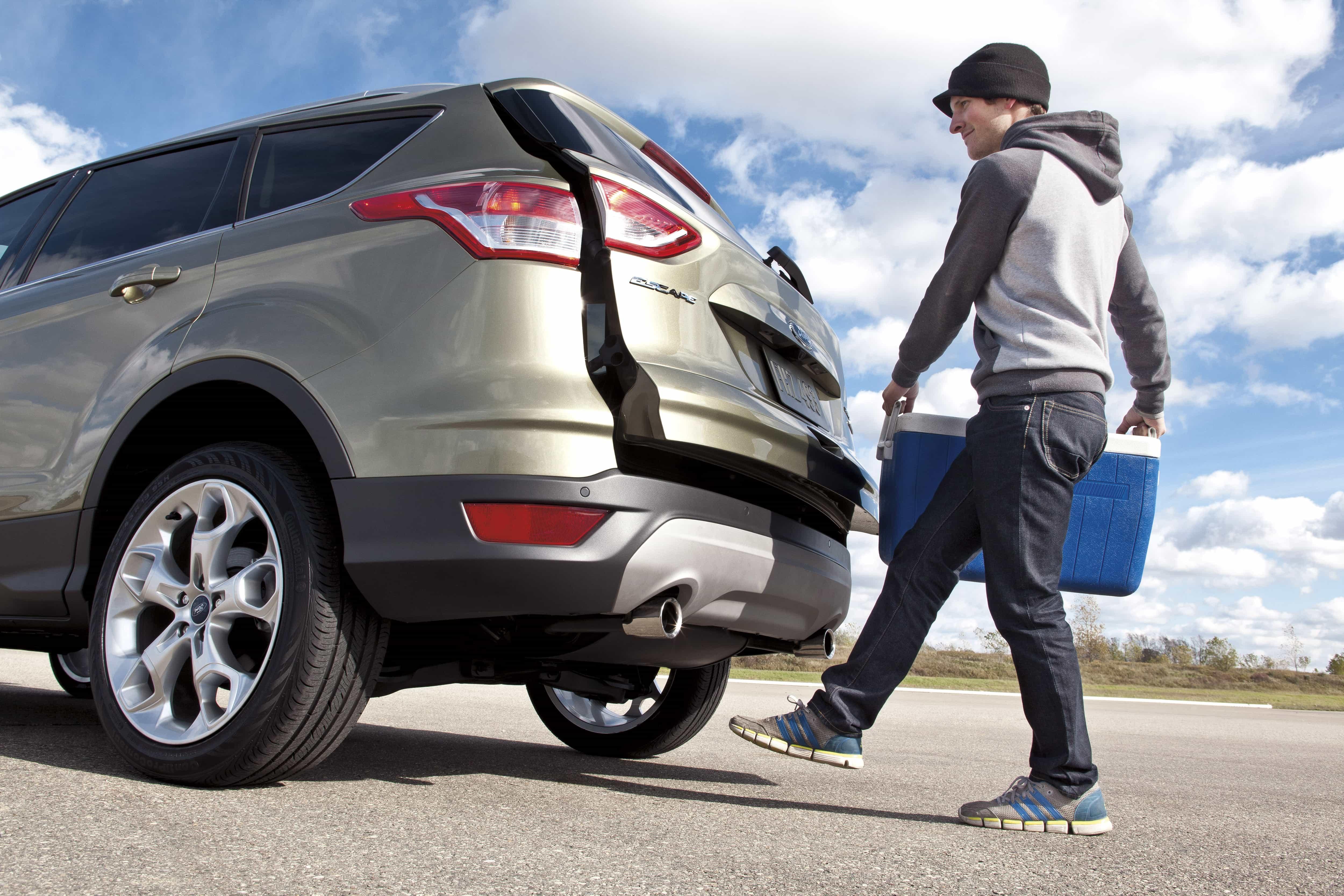 Ford Kuga 2017 в рестайлинговом кузове