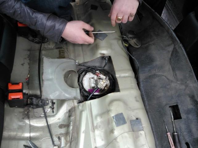 Замена бензонасоса на форд мондео